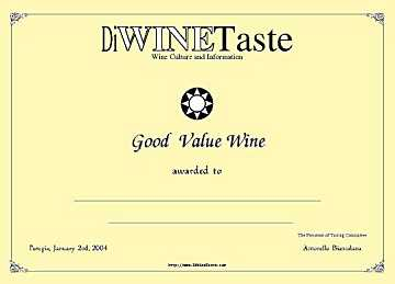 The new DiWineTaste's award for good value wines