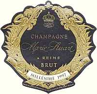 Champagne Brut Mill�sime 1997, Champagne Marie Stuart (France)