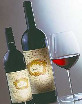 From Merlot and Refosco dal Peduncolo Rosso is Obtained Sossò, the Renowned Livio Felluga's Red Wine