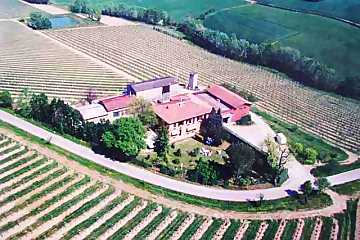 A top view of Tre Monti Winery