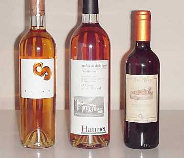 The wines selected for our comparative tasting