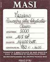 Amarone della Valpolicella Classico Mazzano 2000, Masi (Veneto, Italy)