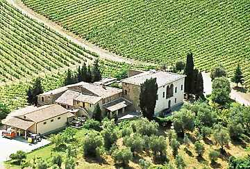Greppone Mazzi estates in Montalcino