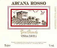 Arcana Rosso 2001, Terre Bianche (Liguria, Italy)
