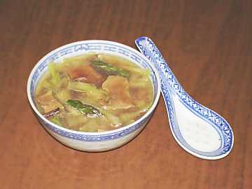 Soups are one of the most important dishes in Chinese cooking