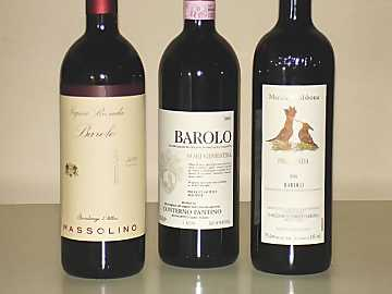 The three Barolos of our comparative tasting