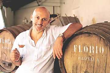 Carlo Casavecchia, Wine maker and general manager of Cantine Florio