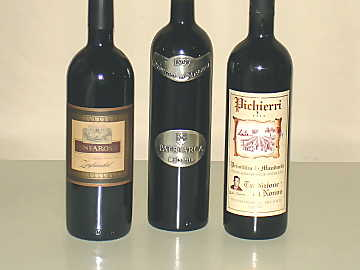 The three Primitivo di Manduria wines of our comparative tasting