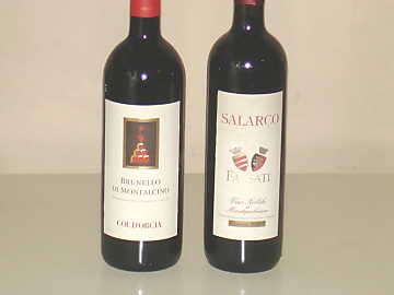 The Brunello di Montalcino and Vino Nobile di Montepulciano of our comparative tasting