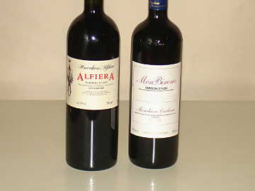 Barbera d'Asti Superiore and Barbera d'Alba of our comparative tasting
