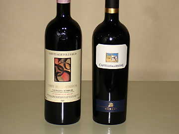 The Nebbiolo and Merlot of our comparative tasting