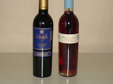 Erbaluce di Caluso Passito and Vin Santo of our comparative tasting