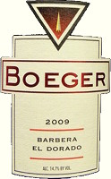 Barbera El Dorado 2008, Boeger (California, United States of America)