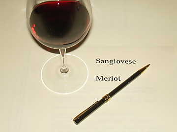 In studying wine  tasting it is always important to take note about the organoleptic sensations  perceived from the glass