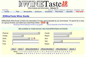 DiWineTaste Wine Guide