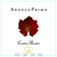 Angelo Primo 2010, Cantine Paradiso (Apulia, Italy)