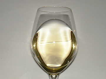 The color of Pinot Gris vinified in white