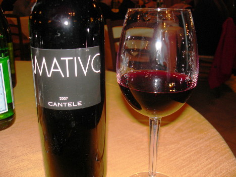 Amativo 2007: one of the flagship red wines of Cantele