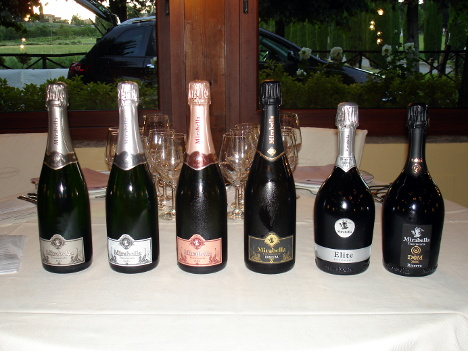 The six Franciacorta wines of Mirabella protagonists of the event