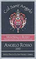 Montefalco Rosso Angelo Rosso 2003, Col Sant'Angelo (Italy)