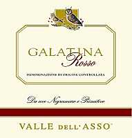 Galatina Rosso 2003, Valle dell'Asso (Italy)