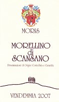 Morellino di Scansano 2007, Moris Farms (Italy)