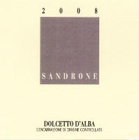 Dolcetto d'Alba 2008, Sandrone (Italy)