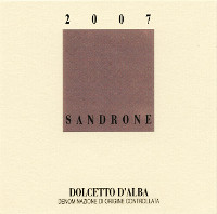 Dolcetto d'Alba 2007, Sandrone (Italy)