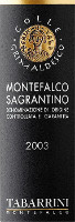 Montefalco Sagrantino Colle Grimaldesco 2003, Tabarrini (Italia)