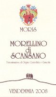 Morellino di Scansano 2008, Moris Farms (Italy)