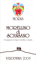 Morellino di Scansano 2009, Moris Farms (Italia)