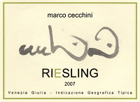 Riesling 2007, Cecchini Marco (Italy)