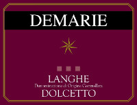 Langhe Dolcetto 2012, Demarie (Italy)
