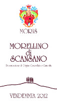 Morellino di Scansano 2012, Moris Farms (Italia)