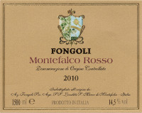 Montefalco Rosso 2010, Fongoli (Italy)