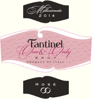 Rosé Brut One & Only 2014, Fantinel (Italy)