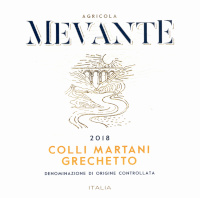 Colli Martani Grechetto 2018, Mevante (Italy)