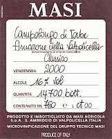 Amarone della Valpolicella Classico Campolongo di Torbe 2000, Masi (Veneto, Italy)