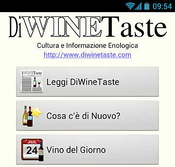 DiWineTaste Mobile: the Android application. DiWineTaste always with you in your pocket!