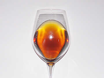 The color of Siracusa Moscato Passito