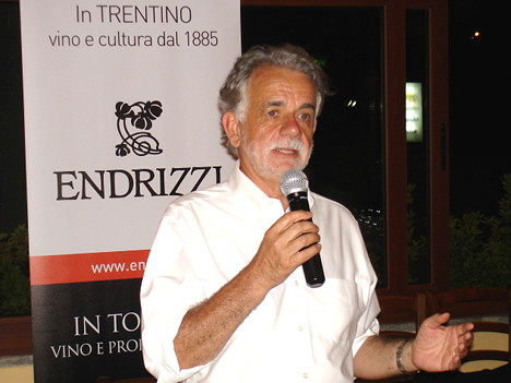 Dr. Paolo Endrici during one of his speeches