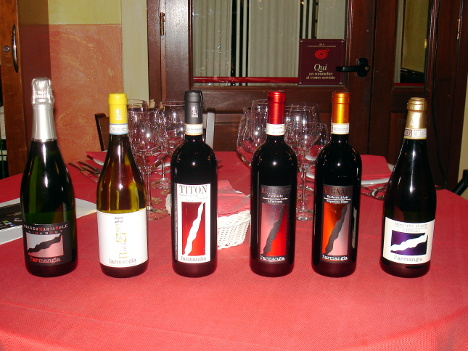 The six wines of L'Armangia protagonists of the evening