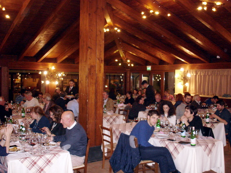 A moment of the event dedicated to Cantine del Notaio