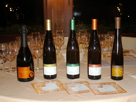 The five Verdicchio wines of Sartarelli protagonists of the event