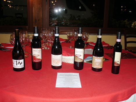 The six wines of Romanelli winery protagonists of the event