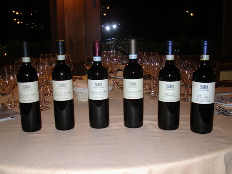 The six wines of Casavecchia winery protagonists of the event