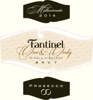 Prosecco Brut One & Only 2014, Fantinel (Italia)